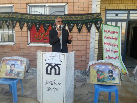 بیان خاطرات فرهنگیان بسیجی به مناسبت هفته دفاع مقدس