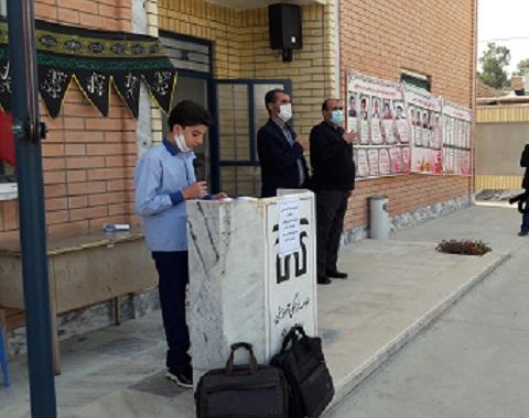سخنرانی و روضه دبیر قرآن دبیرستان امام حسین (علیه السلام) گناباد دوره اول